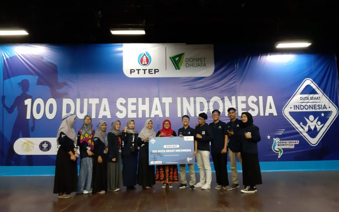 Dua puluh mahasiswa FK UIN Jakarta terpilih sebagai Tim Duta Sehat Indonesia Dompet Dhuafa dan PTT Exploration and Production Public Company Limited (PTTEP)
